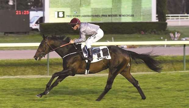 Having only his second start, Sayyal, who is trained by Henri François Devin, improved on his debut