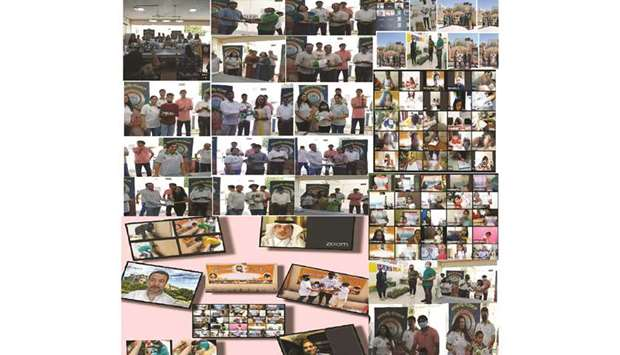 Bunts Qatar, a forum of Indian expatriates from the Karnataka state, conducted various environment-r