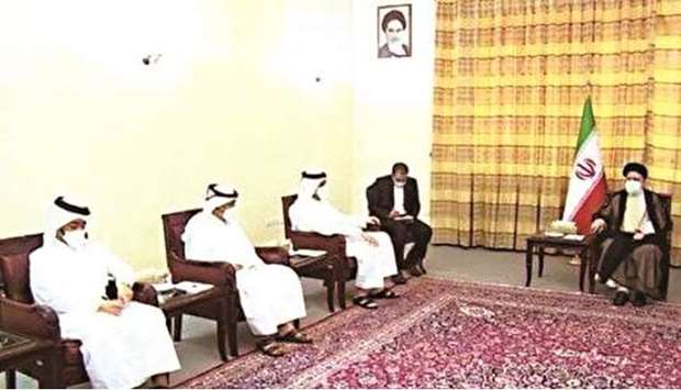 During the meeting, they reviewed bilateral relations and ways to develop them. HE Sheikh Mohamed co