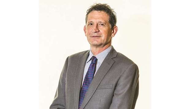 Andrew Faulkner, managing director and country chairman of Qatar Shell