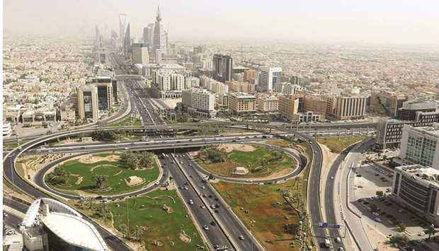 A general view in Riyadh. In 2022, the Middle East's largest economy and world's largest oil exporte