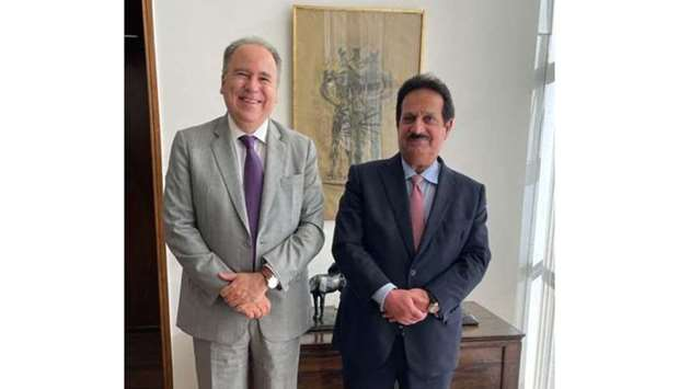 The message was delivered by ambassador of Qatar to Brazil Ahmed bin Ibrahim al-Abdullah during his