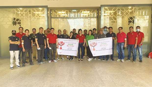 The 35 volunteers were led by chapter president Rudilyn Reyes, adviser Robert U Mabulay, and overall