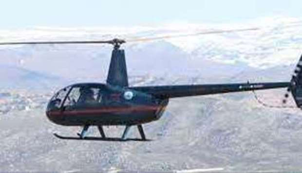 Lebanon army Robinson R44 training helicopter