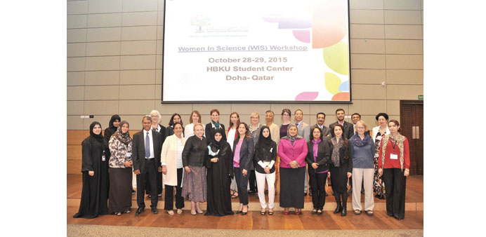 Participants at the recently organised 'Women in Science' workshop.