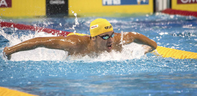 Chad Le Clos will compete in Doha off the back of an impressive seven medal haul at the Commonwealth