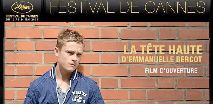 A FIRST: The poster for La Tete Haute, which will open the festival.