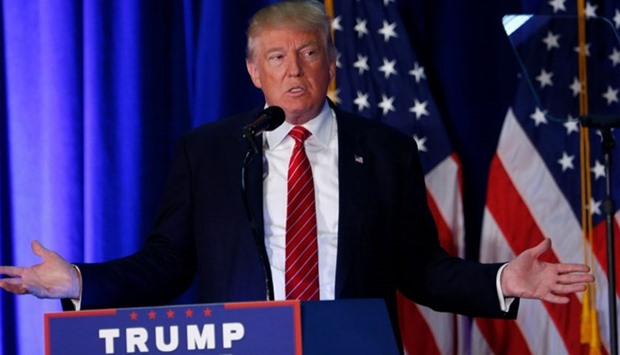 Donald Trump speaks at Youngstown State University in Youngstown, Ohio