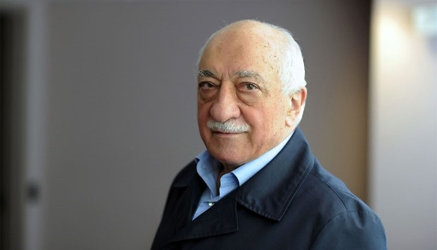 Exiled Turkish Muslim preacher Fethullah Gulen at his residence in Saylorsburg, Pennsylvania, on Sep