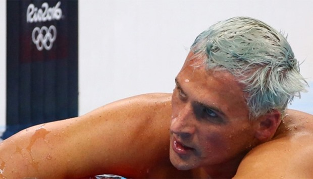 Ryan Lochte of the USA