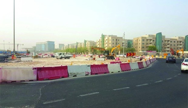 The works will enhance free-flowing traffic and are being carried out in full swing to complete the