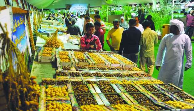 Visitors walks past one of the participating farms at the festival. PICTURE: Shemeer Rasheed