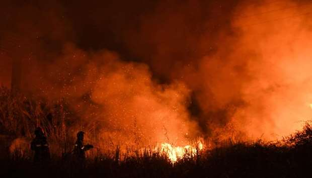 Portugal battles multiple forest fires