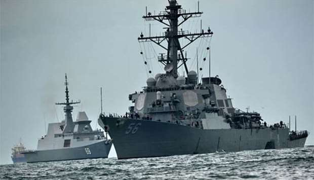 U.S. 7th Fleet Commander to Be Relieved Amid Warships' Collisions