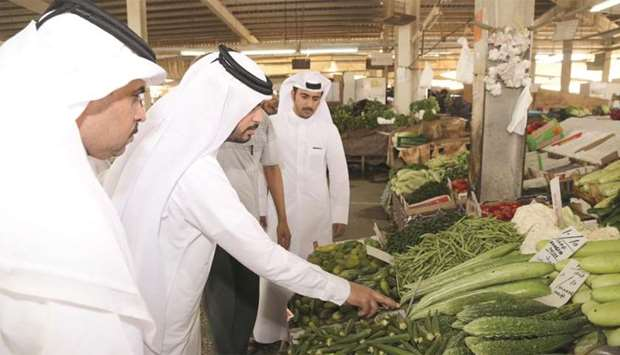 Government authorities are monitoring the prices at Wholesale Market.