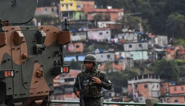 British woman shot after family stray into Brazil favela