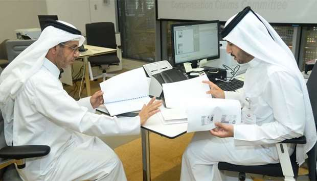 The Compensation Claims Committee office is now in its fifth week of operations