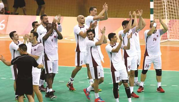 Qatar handball team