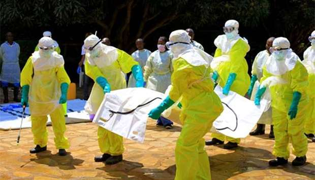 WHO expects more Ebola cases in Congo