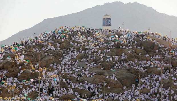 The plains of Arafat