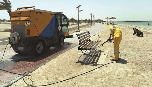 Eid clean-up campaign
