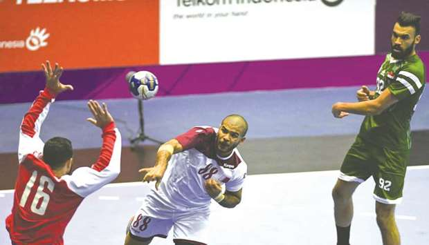 Good day for Qatar in handball and volleyball