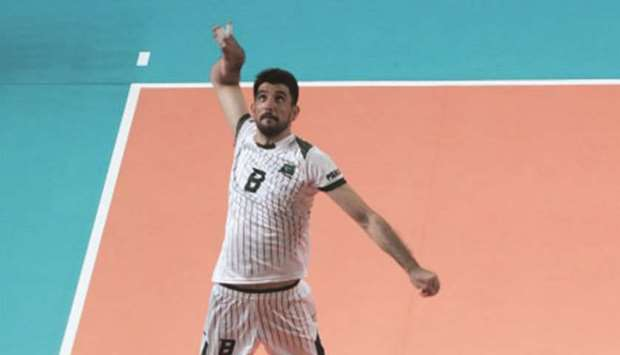 Pakistan down Mongolia 3-0 in men's volleyball