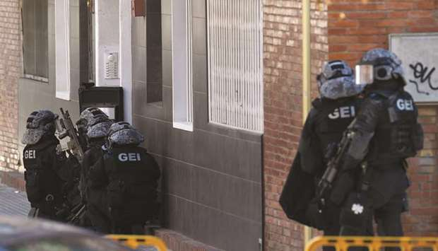 Man shot dead in attack on police station in Spain