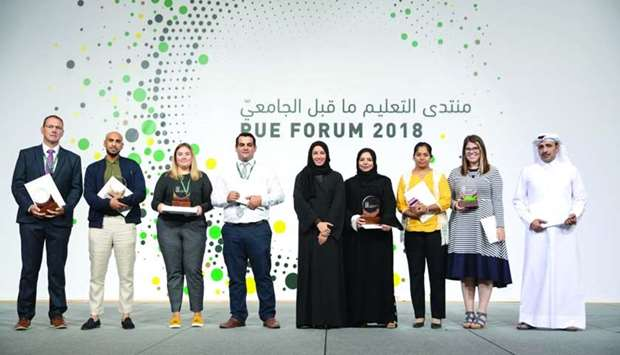 The winners of this year's PUE Awards receive their accolades