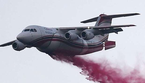 Fighting fire from the air