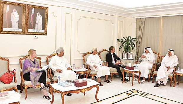 Chamber, Oman delegation look to deepen business ties