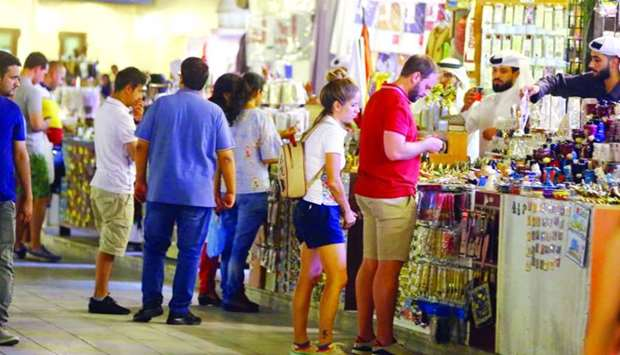 Souq Waqif retail establishments are expecting an influx of customers this Eid al-Adha.