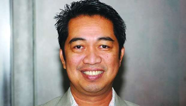 Philippine Business Council-Qatar chairman Greg Loayon. PICTURE: Shemeer Rasheed.