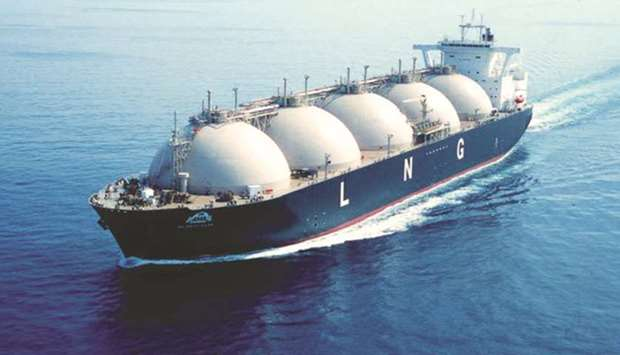 Idling LNG tankers