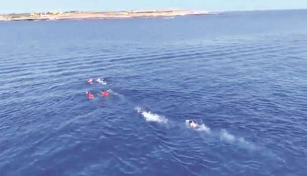 Spanish rescue ship Open Arms