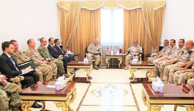 Chief of Staff meets US defence official