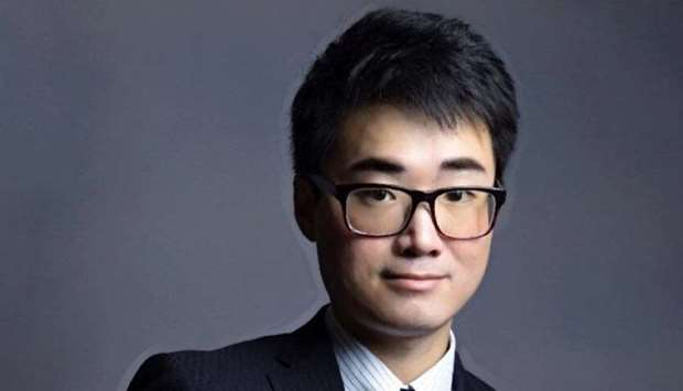 Simon Cheng, a staff member of Britain's consulate in Hong Kong, who was reported missing by local m