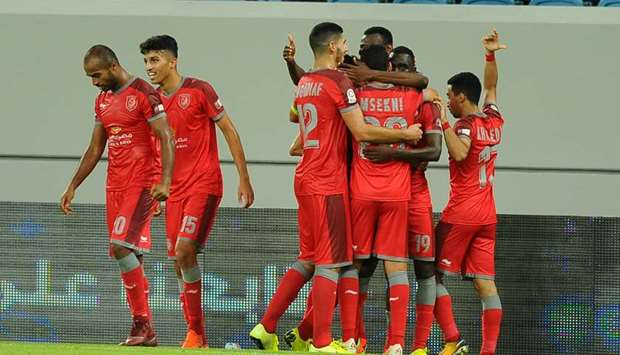 Al Duhail players