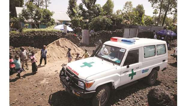 ambulance in Goma