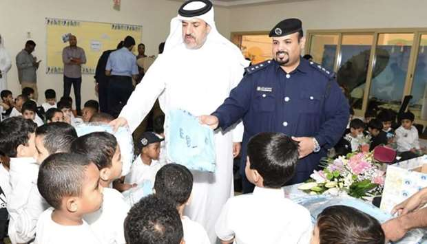 Officials from the General Directorate of Traffic on Monday visited different schools in Qatar as pa