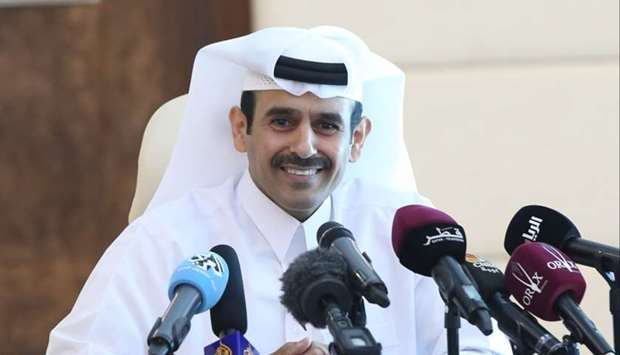 HE the Minister of State for Energy Affairs Saad bin Sherida al-Kaabi