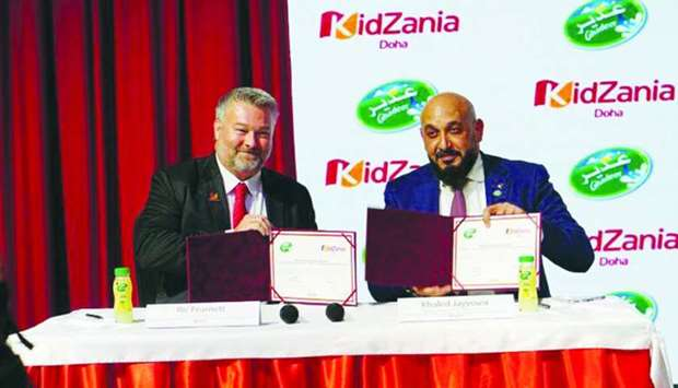 Ghadeer signs deal to set up 'Juice Factory' for kids