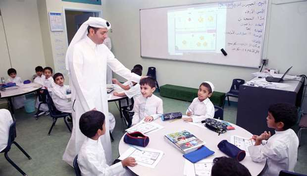 Education Minister visits schools