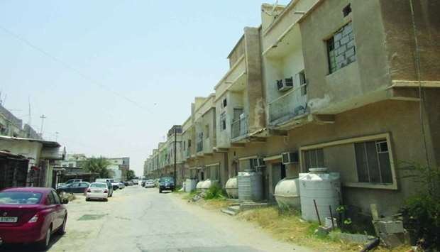The Building and Demolition Committee at the Ministry of Municipality and Environment issued a total