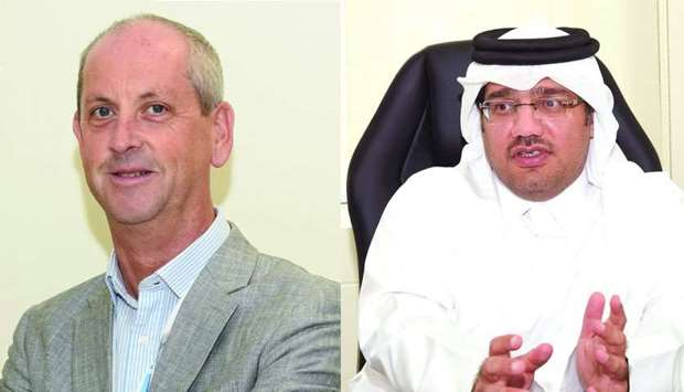 Iain Tulley and Dr Majid al-Abdullah