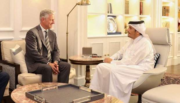 FM meets US presidential envoy for hostage affairs