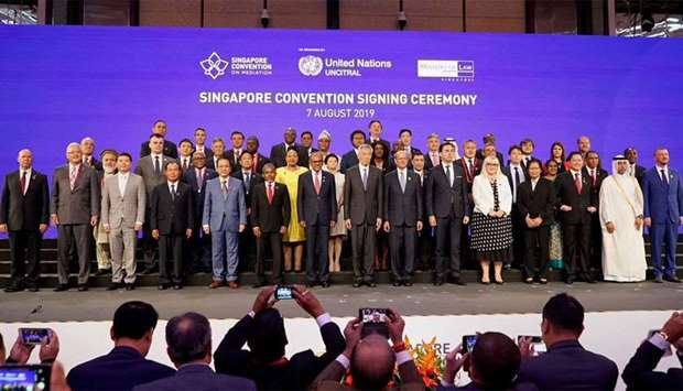 Qatar joins Singapore Convention on mediation accord on mediation