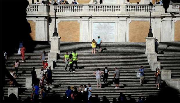 Tourists to the Eternal City will no longer be able to catch their breath on the Spanish Steps, afte