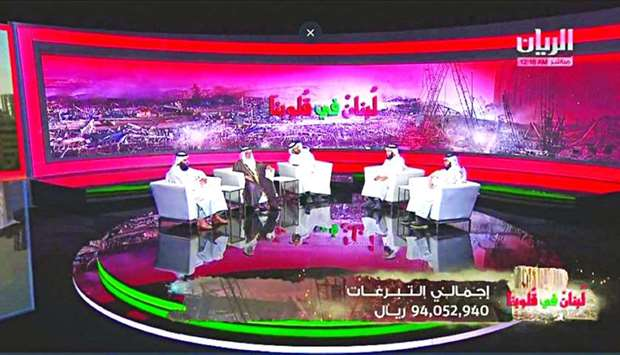 Total donations made during the campaign amounted to QR94,052,940.