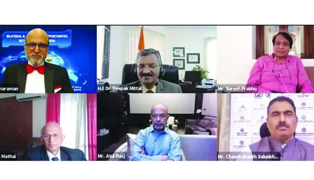 Qatar India Webinar Panellists